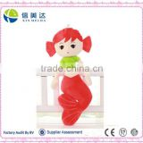 Beautiful mermaid plush doll toys for girls lovely doll plush toys stuffed fish toys for 2015