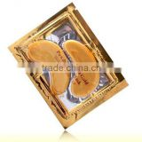Wholesale Anti Wrinkle Moisture Crystal Collagen Eye Mask/24k Crystal Collagen Gold Eye Mask