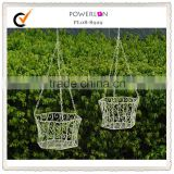 Handmade Creative Useful Weave Wall Hanging Basket Vine/Wall Baskets/ Planter/ Flowers Pots