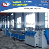 CE certified wood plastic profile extrusion equipment