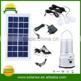 solar light tower with ratio and mp3 USB, phone charger, three bulbs.