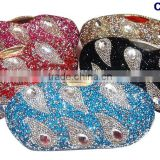 CSB2083 Sexy ladies fashion crystal clutch shoes matching bag fashion heels wholesale price