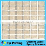 Alibaba china cheapest wearable drop mould mosaic sticker