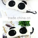 1pcs lovely panda eye mask shade cute travel rest blindfold cover sleeping eye mask eyeshade eyepatch
