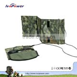 Tent detachable flexible 15 watts solar panel portable solar charger bag charger for mobile phone