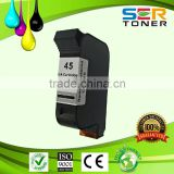 Re-manufactured 45 Ink Cartridge for hp 51645 with high quality