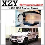 G-class W463 G63 G65 fender flares arch wheel flares for