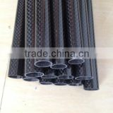 carbon fiber car parts with carbon fiber exhaust tube