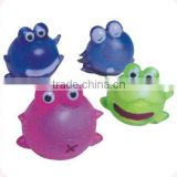 Sell sticky soft and cute frog toys for vending machine