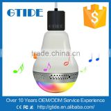 Multi-Color Relax LED Music Light Buletooth Bulb Speaker for Lighting at Home Hotel Park