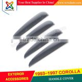 1993-1997 TOYOTA COROLLA 1997 ACCESSORIES 93 94 95 96 97 ABS CHROME DOOR HANDLE COVER CAR ACCESSORIES