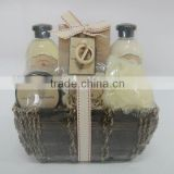 spa care kit and bath gift set