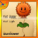 Creative 3D Sunflower Removeable Wallpaper Novelty Good Gift Wall Lighting