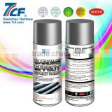 2015 High Quality Rainbow Fine Chemical Brand 7CF 400ml Acrylic Fast Dry chrome aerosol spray paint