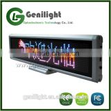 HD Indoor Desk Full Color Programmable Scrolling Display LED Message Sign Board