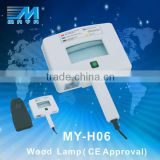 MY-H06 BEST! magnifying wood lamp skin analysis/ skin scop analysis device(CE Certificate)