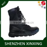 Supper light weight breathable nylon mesh outsole eva+rubber color black and desert combat boot, out door travel boot