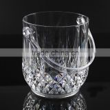 Factory selling plastic transparent acrylic crystal wine champagne bucket ice bucket