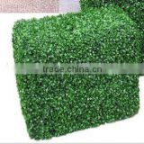 Artifical plants, plastic artificial boxwood hedge