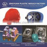 Professional construction site high quality plastic crash helmet mould/Building site Injection crash helmet mold OEM supplier