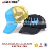 3D embroidery custom snapback mesh trucker cap and hat