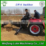 Factory supply 3 Point hitch towable backhoe for tractor