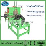 make the chain machine type and stainless steel material / metal processed wire chain making machine