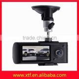 Factory wholesale 2.7 inches wide GPS dual camera car dvr dash camera 1080