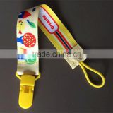 Cute baby pacifier clip plastic pacifier clip baby games baby food pictures pacifier clip