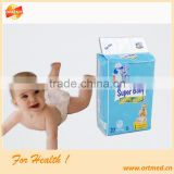 B grade 3D leakproof super thin baby diaper