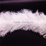 feather yarn 100% polyester yarn , factory direct sale cheap price feather yarn for knitting