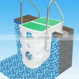 Full set pool system swimming accessories circulation,filter,light,disinfect swimming pool equipment