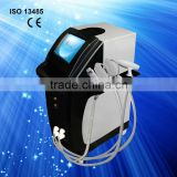 Fade Melasma 2013 Multi-Functional Beauty Tattoo Pain Free Equipment E-light+IPL+RF For Natural Max Slimming Capsule
