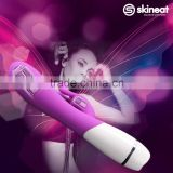 skineat Unisex G-Spot constant temperature Dual Vibrating Masturbation Sex Toy Pussy Massage Artificial Penis Dildo