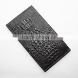 2016 new design fashion 100%Genuine Leather Wallet,Crocodile 3D purse men long wallet card handbag wallet
