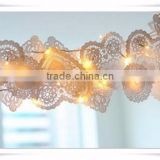 Hot Selling Heart Shaped Lace Colored Paper Doilies