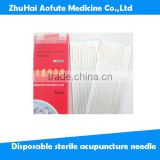 Body health Disposable sterile acupuncture needle