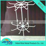 OEM greeting card display rack/rotating metal wire gift card display stand for promotion supermarket retail shop