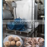 top quality factory sale coconut dehusker machine coconurt trimming machine/coconut peeler machine