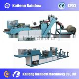 Newest Heat-sealing and cold cutting bag making machine