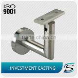 304 stainless steel handrail glass bracket in balustrades