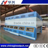 CE approved 4 pairs of brushes advanced intelligent control tempered making glass bending tempering machine