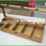 eco friendly custom window wooden jewelry box with slide lid wholesale,wooden jewelry box