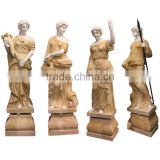 large garden stone decoration marble four season garden statues for sale