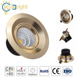 3 years warranty Champagne Gold 3w 5w 7w 10w indoor led spot light