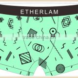 Green 88% Polyester 12% SpandexShorts underwear boy shorts man manufacturer sexy men boxer underwea briefs