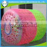 Air sealed To quality PVC water roller, inflatable water roller, Inflatable cylinder roller for fun