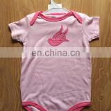 China supplier soft cotton baby clothes romper