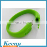 Customized Promotional Silicon Bracelet USB, Wristband USB Drive