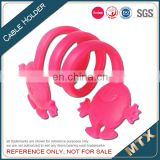 Silicone earphone cord holder supplier